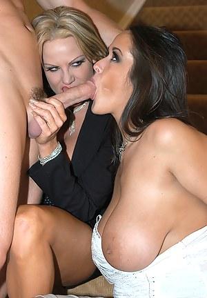 Best Mature Double Blowjob Porn Pictures